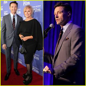 Hugh Jackman Gives Teary Speech at Santa Barbara Film Festival Honor - Watch Here!