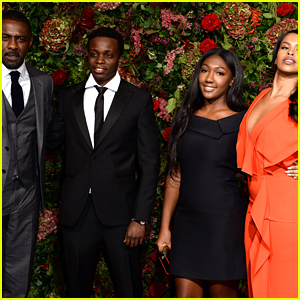 Idris Elba's Fiancee & Daughter Join Him on Red Carpet in London!