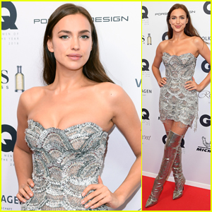 Irina Shayk Stuns on the Red Carpet at GQ Men of the Year Award 2018!