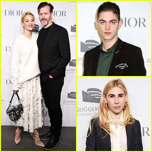 Jaime King, Hero Fiennes-Tiffin & More Hit Carpet at Guggenheim Gala Pre-Party!