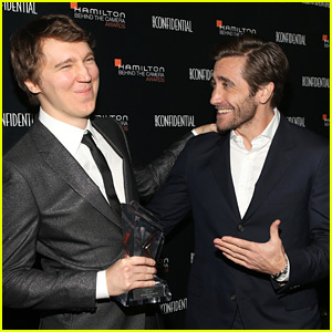 Jake Gyllenhaal Honors Director Paul Dano with Breakthrough Award!