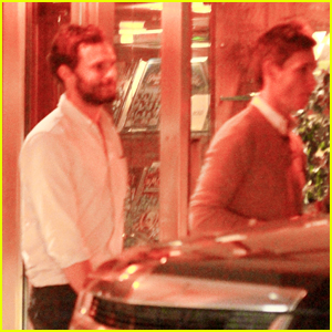 Jamie Dornan & Eddie Redmayne Hang Out in Los Angeles
