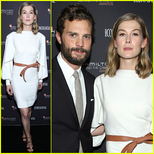 Jamie Dornan & Rosamund Pike Honor 'A Private War' Cinematographer at Hamilton Awards