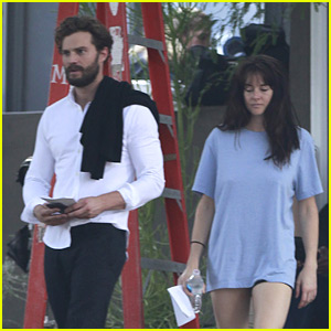 Jamie Dornan Films New Movie with Shailene Woodley - See the Set Photos!