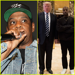 Is Jay-Z Calling Out Donald Trump & Kanye West on His Meek Mill Track 'What's Free'? Read the Lyrics!