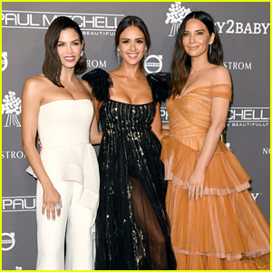 Jenna Dewan, Jessica Alba, & Olivia Munn Enjoy a Girls' Night Out at Baby2Baby Gala
