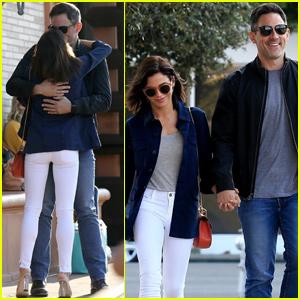 Jenna Dewan & Boyfriend Steve Kazee Look So Happy During Afternoon Date!