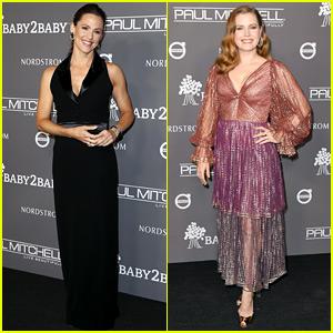 Jennifer Garner & Amy Adams Glam Up for Baby2Baby Gala!