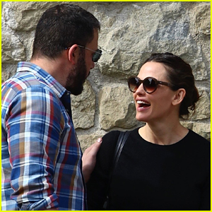 Jennifer Garner & Ben Affleck Are Friendly Exes at Church
