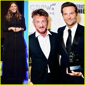 Jennifer Garner Helps Honor 'Alias' Co-Star Bradley Cooper at American Cinematheque 2018!