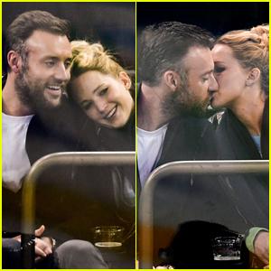 Jennifer Lawrence Kisses Boyfriend Cooke Maroney, Looks So Happy in New Photos