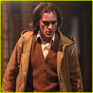 Joaquin Phoenix Gets Moody on the Set of 'Joker' in New York City