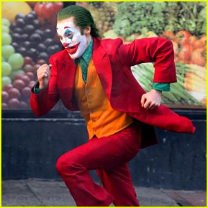 Joaquin Phoenix Films a Dangerous Stunt as The Joker in NYC!