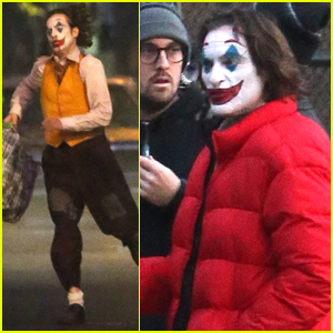Joaquin Phoenix is Up to No Good as the Joker in NYC!