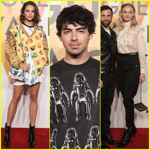 Alicia Vikander, Joe Jonas & Sophie Turner Attend Louis Vuitton Exhibition in Shanghai!