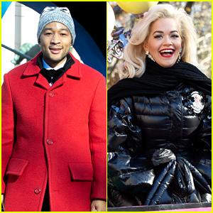 John Legend & Rita Ora Explain Why Singers Lip Sync at Thanksgiving Day Parade