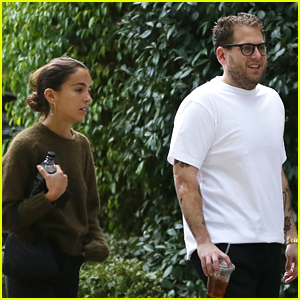 Jonah Hill & Girlfriend Gianna Santos Step Out for Lunch in L.A.