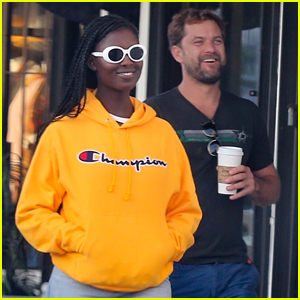 Joshua Jackson Holds Hands with Jodie Turner-Smith in New Photos