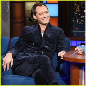 Jude Law Picks His Favorite Young Dumbledore Nickname on 'Late Show'