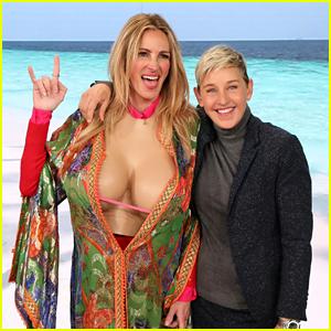 Julia Roberts Gets Help from Ellen & More Celebs to Up Her Instagram Game!