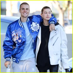 Justin Bieber Puts Buzzcut on Display Alongside Hailey Baldwin