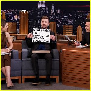 Justin Timberlake Tests Jessica Biel & Jimmy Fallon in the 'Best Friends Challenge'