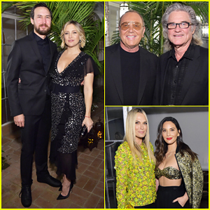 Kate Hudson Gets Support from Boyfriend Danny Fujikawa & Dad Kurt Russell at Michael Kors Dinner!