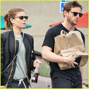 Kate Mara & Jamie Bell Stock Up on Groceries in Studio City