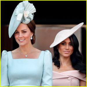 Kate Middleton Speaks About Meghan Markle's Pregnancy for First Time in Public!