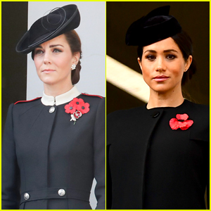 duchesses kate middleton meghan markle attend remembrance day with their husbands kate middleton meghan markle pregnant celebrities prince harry prince william queen elizabeth just jared just jared