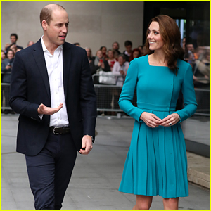 Kate Middleton & Prince William Stop By the BBC Broadcasting House