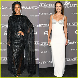 Kelly Rowland & Jordana Brewster Stun at Baby2Baby Gala