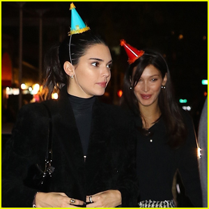 Kendall Jenner Celebrates Her Birthday with Bella Hadid in NYC!