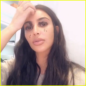 Kim Kardashian Hilariously Lets North & Dream Do Her Makeup!