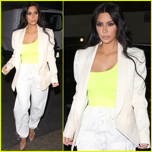 Kim Kardashian Shows Her Style During a Night Out in Hollywood