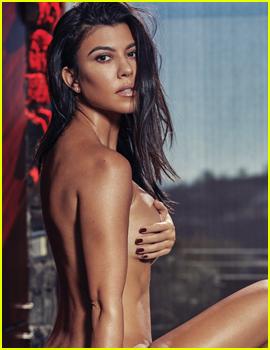 Kourtney Kardashian Poses Topless for 'GQ' Mexico!