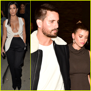 Kourtney Kardashian Attends Same Event as Ex Scott Disick & His Girlfriend Sofia Richie