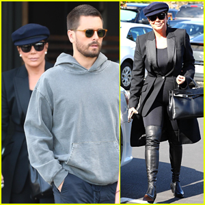 Kris Jenner Grabs a Sushi Lunch with Scott Disick