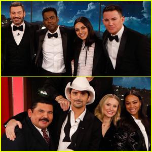 Kristen Bell, Channing Tatum, Mila Kunis & More Take Part in Duet During Kimmel's Star-Studded (RED) Episode!
