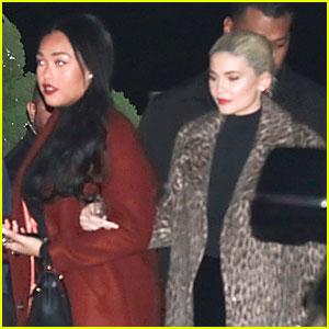 Kylie Jenner Hits Nobu After Releasing 2019 Calendar