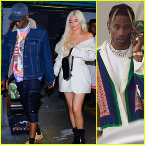 Travis Scott & Kylie Jenner Hold Hands In Miami Ahead of 'Astroworld' Concert