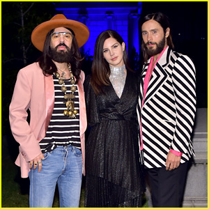 Jared Leto & Lana Del Rey Celebrate New Gucci Fragrance at Hollywood Forever Cemetery