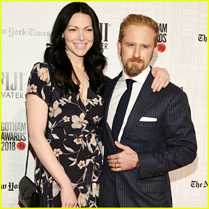 Laura Prepon & Ben Foster Couple Up at Gotham Awards 2018!