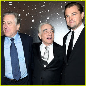 Leonardo DiCaprio & Robert De Niro Pay Tribute to Martin Scorsese at MoMA Film Benefit