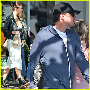 Leonardo DiCaprio Goes Shopping with Girlfriend Camila Morrone
