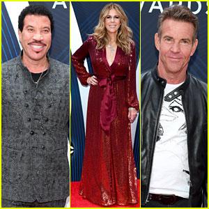 Lionel Richie, Rita Wilson, & Dennis Quaid Present at CMA Awards 2018!