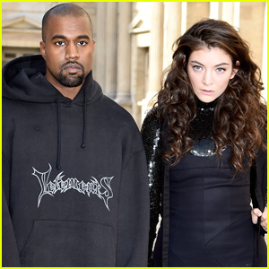 Lorde Accuses Kanye West & Kid Cudi of Copying Stage Design