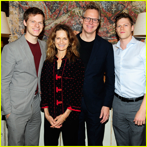 Lucas & Peter Hedges Get Support from Family at 'Ben Is Back' New York Screening!