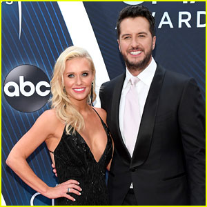 Luke Bryan & Wife Caroline Boyer Hit CMA Awards 2018 Red Carpet!
