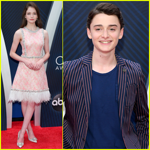 Mackenzie Foy Joins Noah Schnapp at CMA Awards 2018